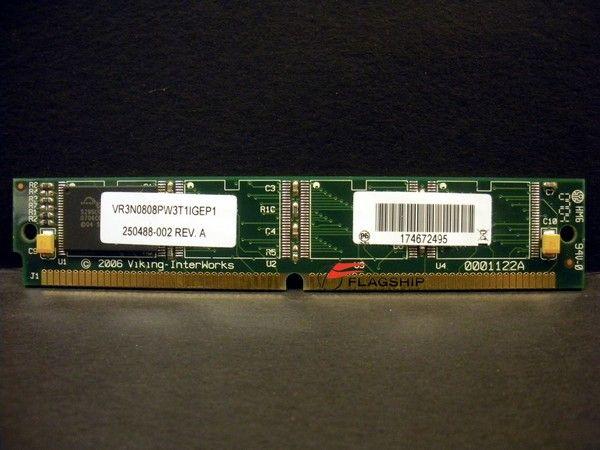 IBM 75P2810 Printronix 250488-002 8MB Flash Memory SIMM