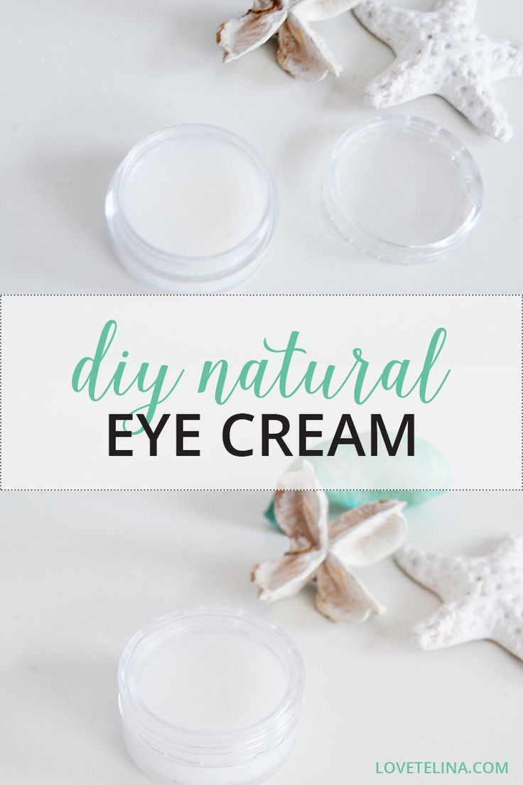 Natural & Organic homemade eye cream. Do you ever get tired, puffy eyes? If the answer is 'yes', then I have a beauty recipe that I think you'll just love! This DIY Natural Eye Cream is perfect for brightening up the eye area, reducing dark circles and nourishing and moisturising the skin too. What's more, it also has anti-aging properties, so it helps reduce fine lines and it keeps the eye area nice and firm.