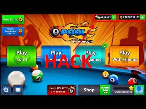 8 Ball Pool Hack 2019 - 8 Ball Pool Free Coins and Cash 2019