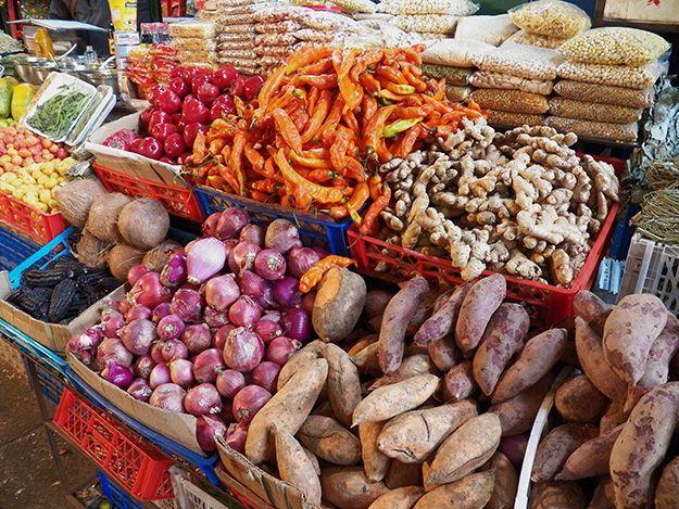 via www.mountainadventures.com Central Market, Santiago, Chile
