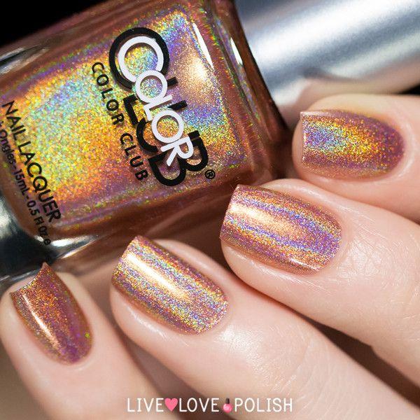 Color Club Holographic Nail Polish Swatches: 25+ Bästa Color Club Idéerna På Pinterest