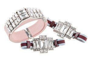 Prada spring-summer 2014 Jewelry Collection #moda #fashion #spring #summer #diamonds #prada #women #bracelets #rings #earrings