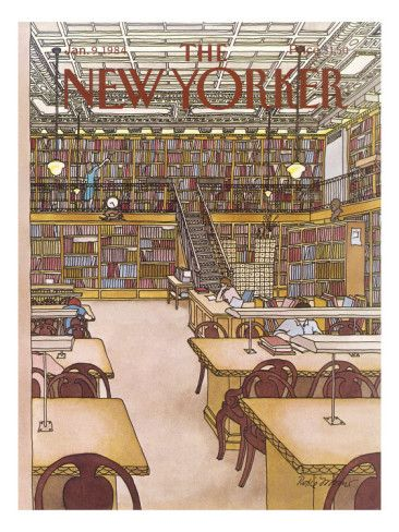 The New Yorker Cover - January 9, 1984 Poster Print by Roxie Munro at the Condé Nast Collection