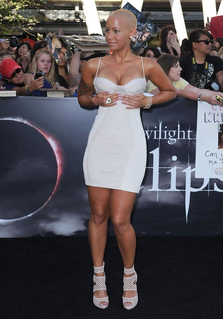Brillant Amber Rose ...Dapper ideal Lady... Rose is half Italian half Cape Verdean