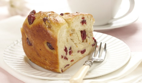 Orange Cranberry Coffeecake