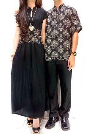 Set Couple Batik GA1418 Busana Tanah abang terbaru