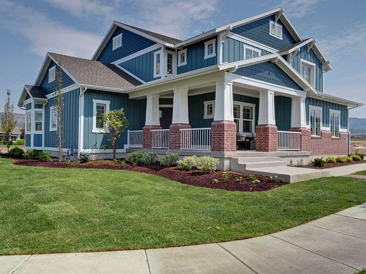 17 best images about ivory homes exteriors on pinterest for Craftsman house plans utah