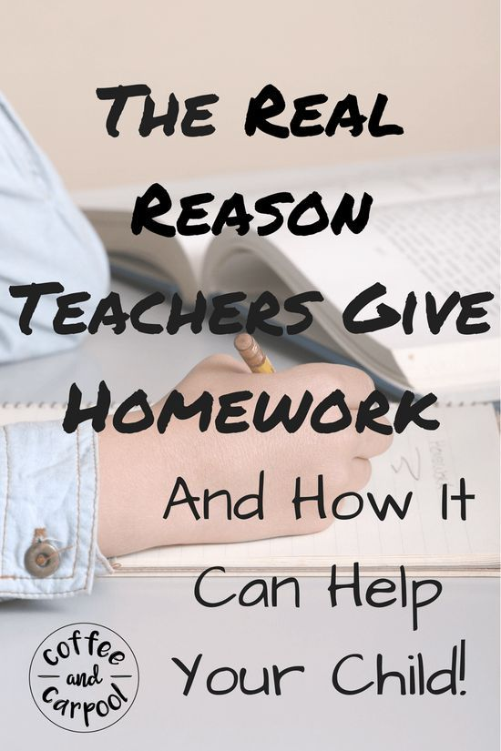 should teachers give homework The teacher said she did not plan to assign homework this school year because it has not proven to correlate with achievement (not true) and because no homework teachers refer to the 10-minute rule - homework time on any given school night should be equal to the child's grade level times 10.