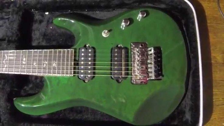 Music Man John Petrucci BFR (Daniels 7 cuerdas)