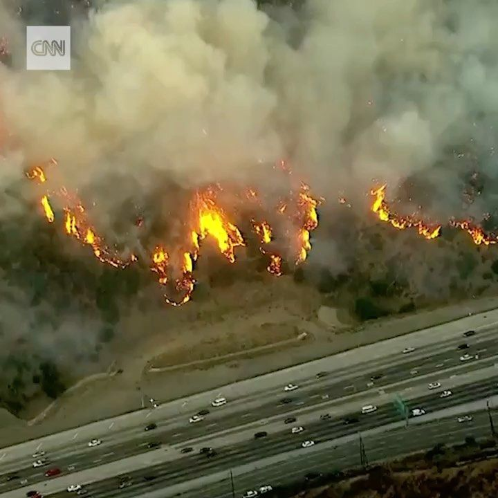 The Getty Fire Broke Out Monday Morning In Los Angeles Prompting Mandatory Evacuations In The Sherman Oaks The Getty Photo Northern California Los Angeles