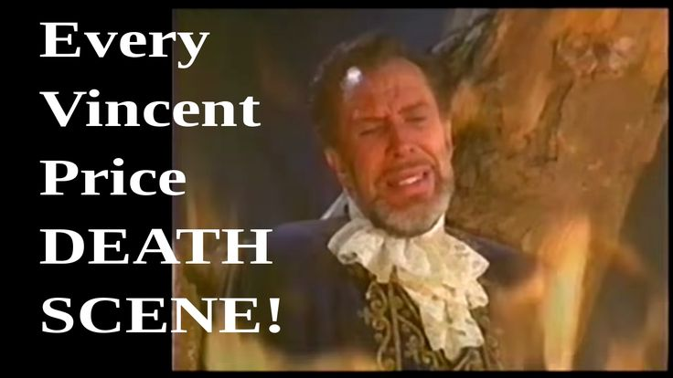 Every Vincent Price Death Scene