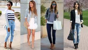 Resultado de imagen para faldas largas 2015 rayadas de colores