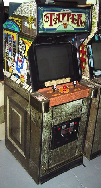 tapper arcade machine
