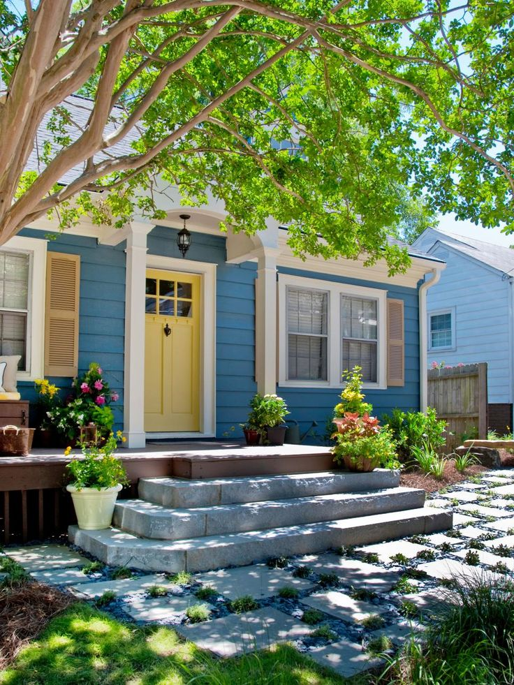 21 best House Exterior images on Pinterest | Blue houses, Blue and ...