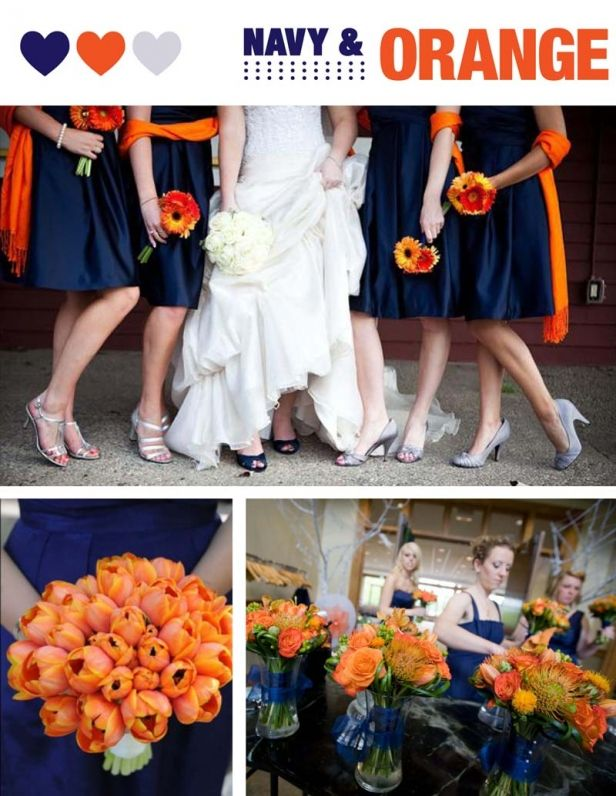 Perfect Wedding Palettes: NAVY | Adori Designs: NJ Custom Wedding Invitations and Announcements