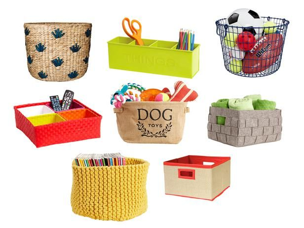 Fun ways to stay on top of the clutter! #hgtvmagazine http://www.hgtv.com/homekeeping/easy-ideas-to-declutter-your-house/index.html?soc=pinterestToys Baskets, Gardens Television, Dogs Toys Cut, Easy Ideas, Organic Ideas, Stay Organic, Dog Toys, Cleaning Organic, Spring Cleaning
