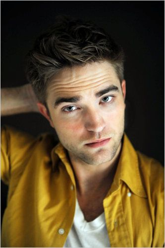 Robert Pattinson, so he cuts his hair and takes a shower and looks like a totally different guy. One that I would approve of. lol