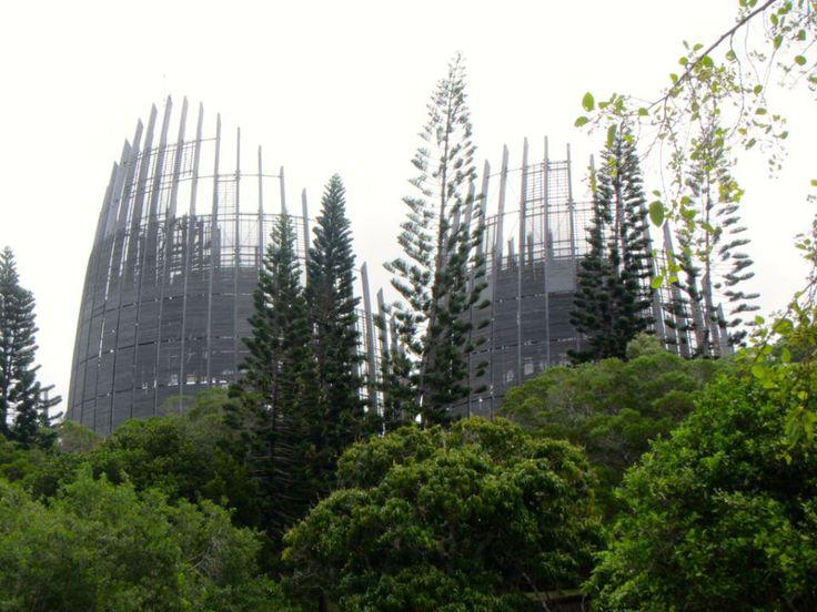 Tjibaou Cultural Center, New Caledonia
