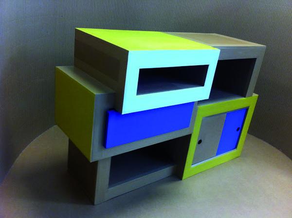 Internship cardboard furniture tween room ideas 4 dylan for Paper mache furniture ideas