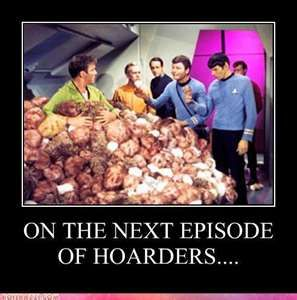 Only the most ridiculous episodes of the original Star Trek series. And of course one of my favorites
