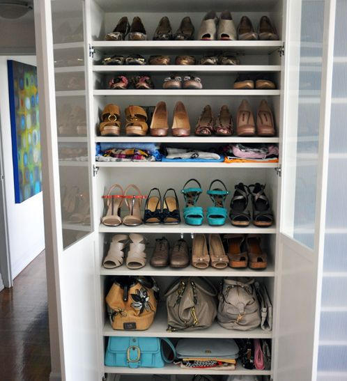 15 best meuble chaussures images on pinterest meuble - Idees rangement chaussures ...