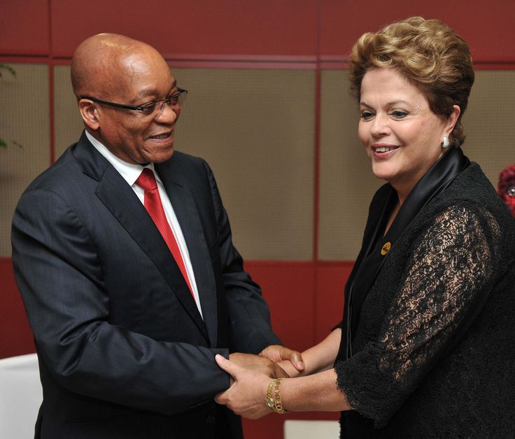 PEOPLE HANGING OUT WITH THE WRONG KIND OF PEOPLE - ZUMA MEETS DILMA