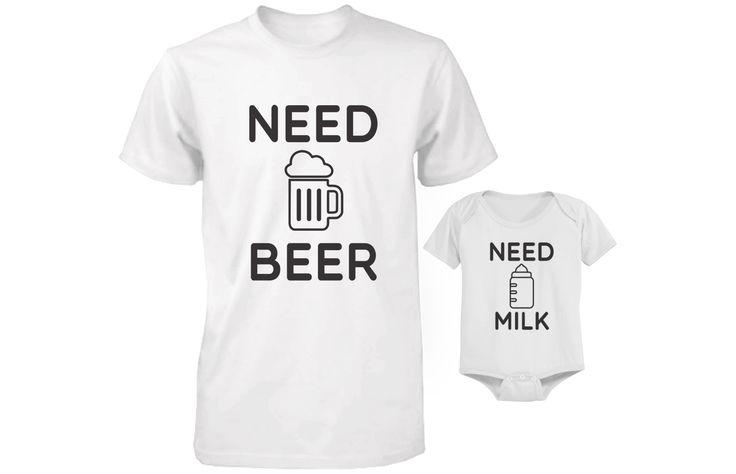 Need Bear Amp Need Milk Matching Shirt Amp Onesie For Daddy