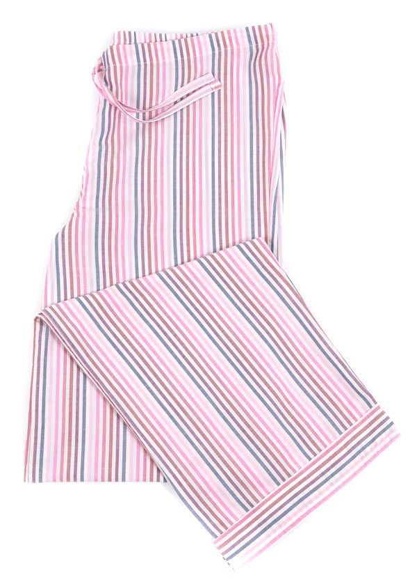 Deckchair+Stripe+PJ+Trousers+-+Please+note+XL+Reg+&+XL+Tall+will+be+dispatched+end+of+w/c+8th+May.  Ladies+lightweight+pyjama+bottoms+in+a+fun+pink,+blue+and+white+stripe.+Perfect+for+summer+or+for+those+who+prefer+lighter+weight+cottons.+These+would+look+great+with+one+of+our+simple+cotton/elastane+vest+tops+or+the+luxury+bamboo+vest.+Matching+dressing+gown+available.Fabric+type:+Classic+woven+cotton.