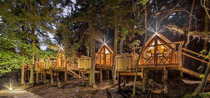 Glamping Ribno 6 case accoglienti slovene sono annidati in una posizione eccellente, a poca distanza dal più grande gioiello sloveno - Lago di Bled, i...