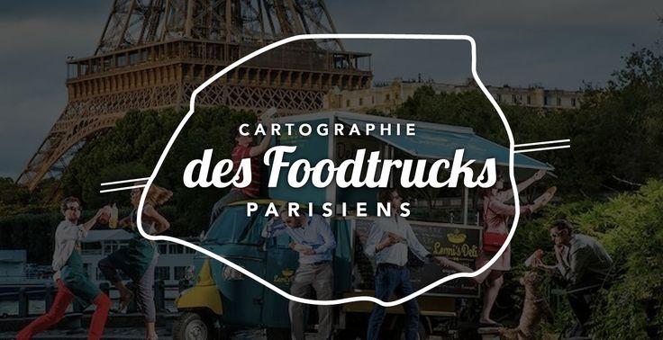 Cartes des foodtrucks parisiens