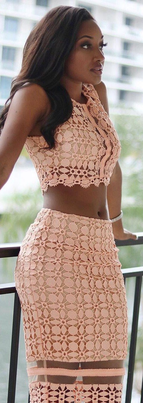 Just Peachy // Outfit by /shopdressappeal/ // Fashion Look by Anastagia Pierre Friel