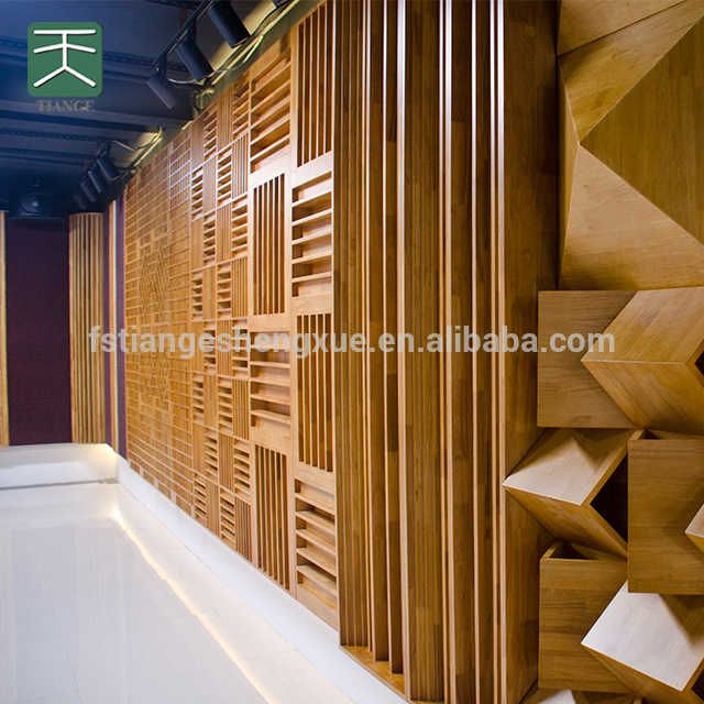 Source 3d Acoustic Wall Wooden Sound Diffuser On M Alibaba Com In 2020 Acoustic Wall Acoustic Wall Panels Room Acoustics