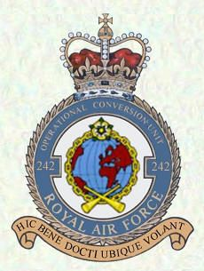 No 242 OCU badge