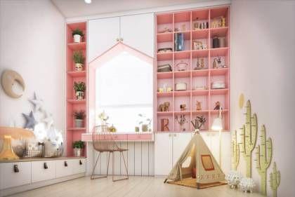 Leseecke im Kinderzimmer - 35 coole Ideen für die Einrichtung