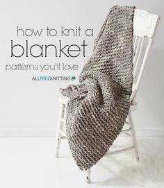 Como tricotar um cobertor: 100 padrões que você vai adorar