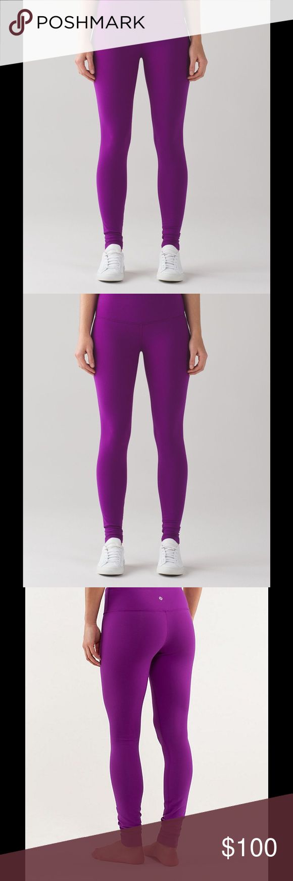 Lululemon wunder under pant size 2 Wont be shipped until 03/20. I listed it now bc there is a coupon on e🅱️ay for 20% off. Valid til mar 11th. If ur ok with me shipping it later. You can purchase there or here. NWT. Beautiful purple color. Color code is tender violet. Reasonable offers through offer button are welcomed but lowballer will be blocked. No trades. lululemon athletica Pants Leggings