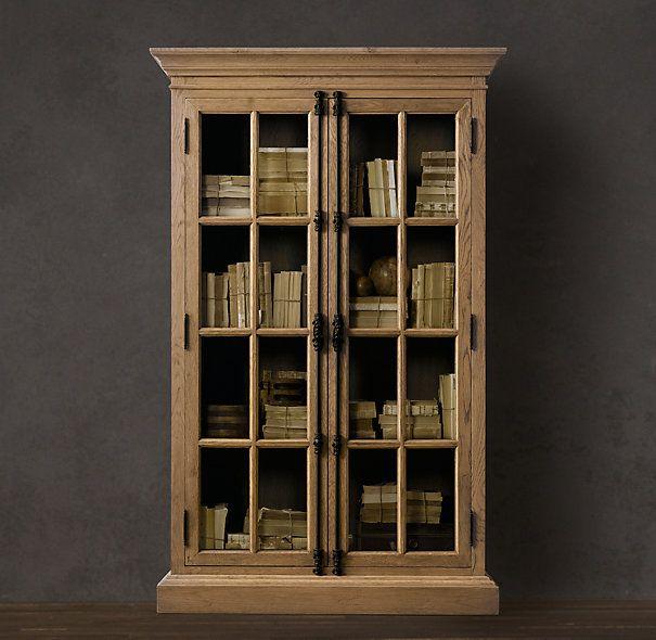 French casement bookcases - restoration hardware