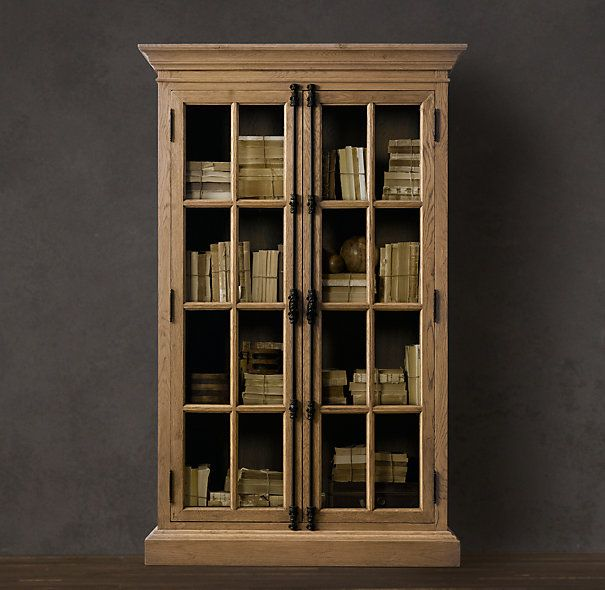 Kitchen Cabinet Handles Restoration Hardware: French Casement Bookcases