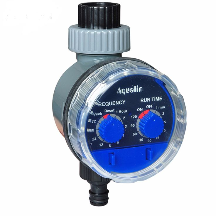 Aqualin 21025 Garden Smart Irrigation Timer Controller System Automatic Electronic Water Timer