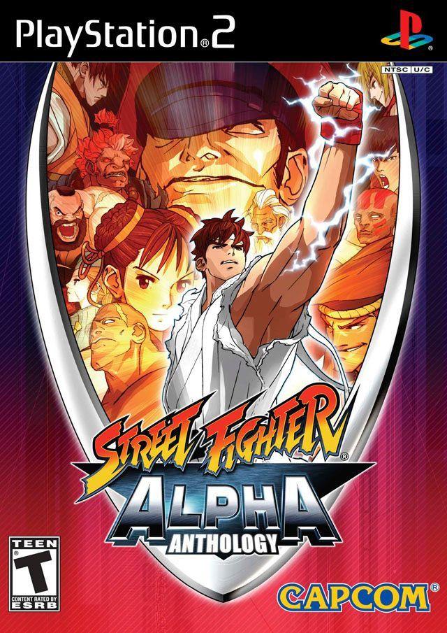 Street Fighter Alpha Anthology  (Sony PlayStation 2, 2006) #streetfighter #playstation #videogames