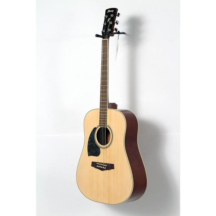 Ibanez Performance Series PF15 Left Handed Dreadnought Acoustic Guitar Natural 190839053800