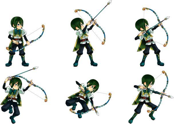 【作品】アルカディアスの戦姫、【武器】弓、【キャラ名】ラーツ