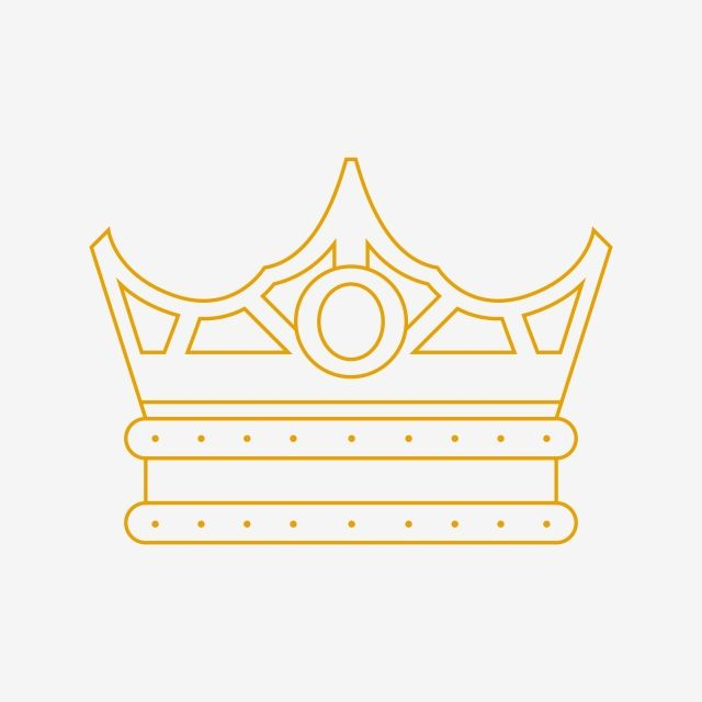 Elegant Crown Line Art Clipart Crown Clipart Elegant Crown Png And Vector With Transparent Background For Free Download Line Art Clip Art Crown Logo