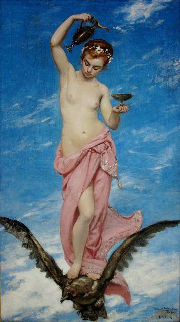 """Medicina, Historia y Arte: El origen del epónimo """"hebefrenia"""": La diosa Hebe ..."""