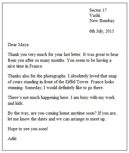 8 best letters images on Pinterest Resignation template, Career - new letter writing informal format pdf