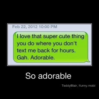 .: Haha Funny, Texts Me Back, Sarcasm, Serious Adorable, Pet Peeves, Texts Back, My Life, Funnies, Just Love