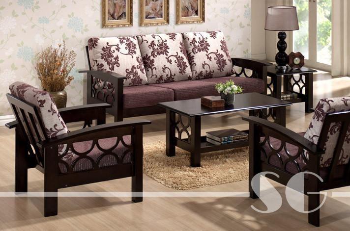 Solid Wood Criss Sofa Set Wooden Sofa Set Designs Wooden Sofa Designs Wooden Sofa Set