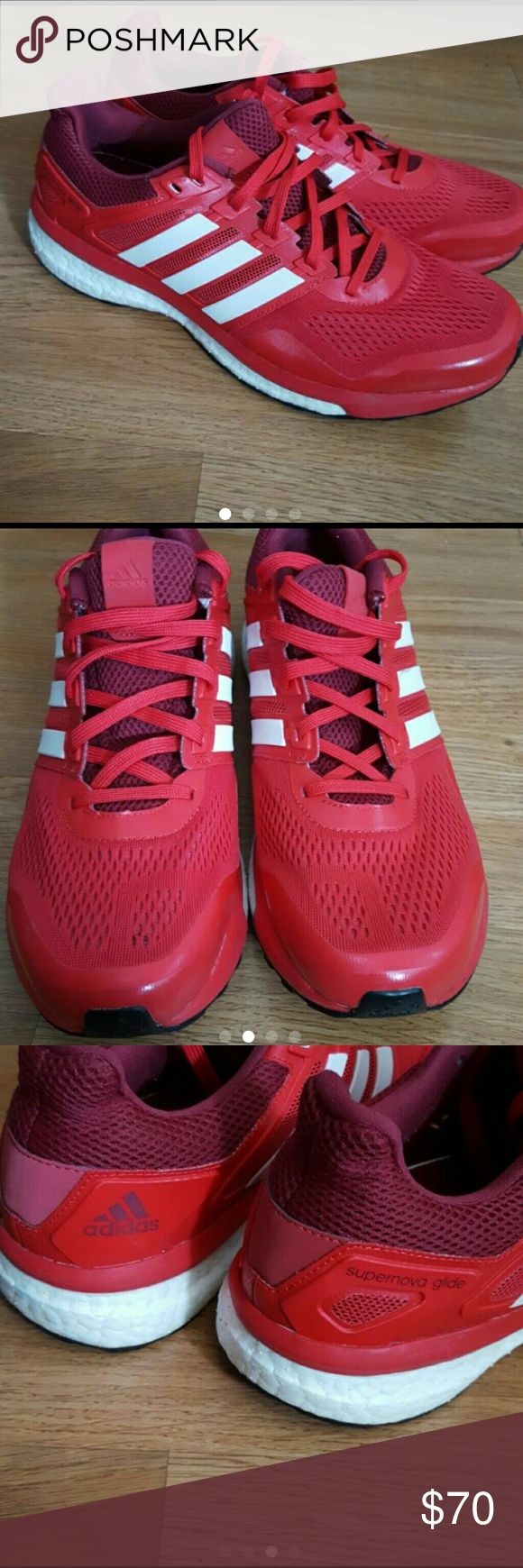 Adidas Supernova glide size 10 In great condition Adidas Shoes Athletic Shoes