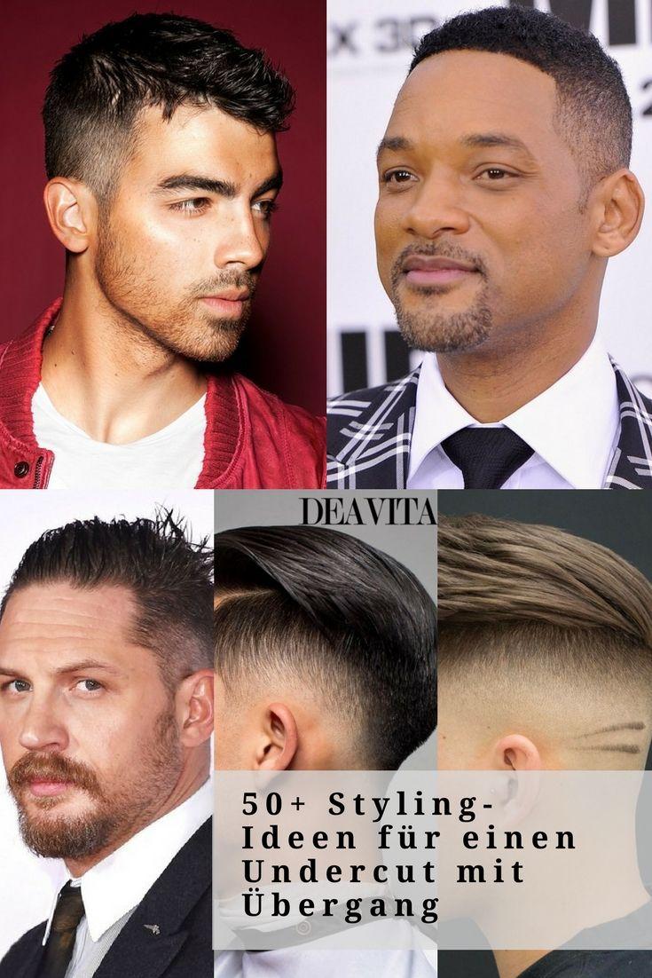 Der #Undercut mit #Übergang gehört zu den beliebtesten Haarschnitten für Männer und liegt zurzeit voll im Trend. Einen Überblick über die verschiedenen Varianten, sowie ein paar coole Stylingideen haben wir für Sie parat. #hair #hairstyles #menstyle #mensfashion