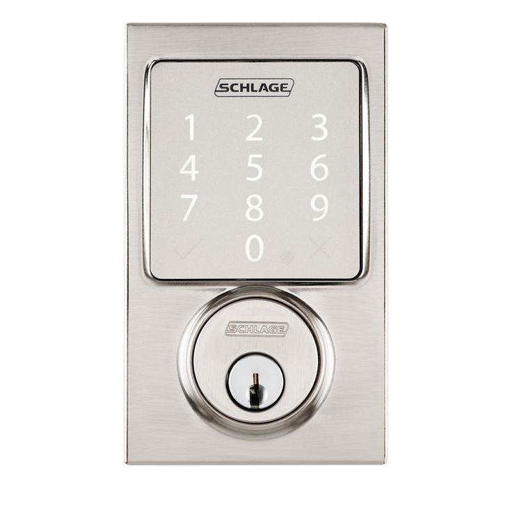 Compatible with Apple HomeKit technology, the Schlage Sense Smart Deadbolt lock lets you unlock your door with a request to Siri on your iPhone. Buy online now at apple.com.